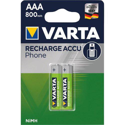 VARTA Phonepower Accu T398 Mico/AAA/HR03,800mAh