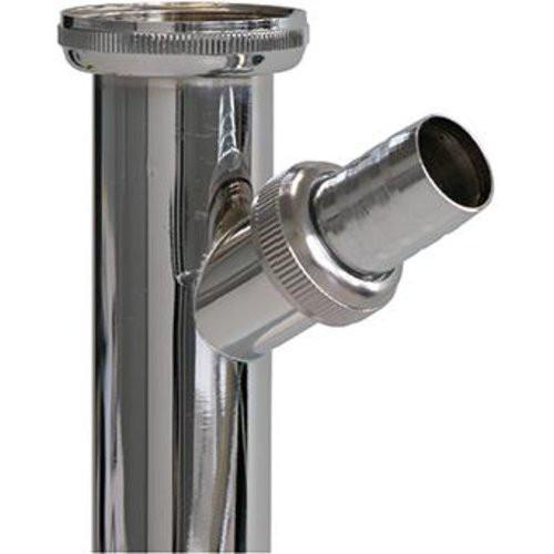 """Verstellrohr / Abw.-Schl.chrom 1 1/4"""" X 200 mm"""