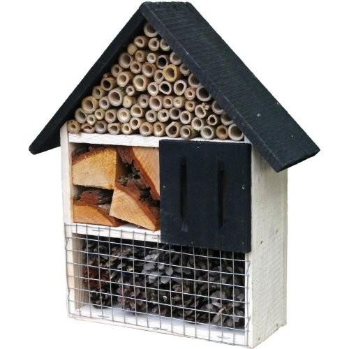 Insektenhotel Elberfeld Maße: 30x27,5x9 cm Holz