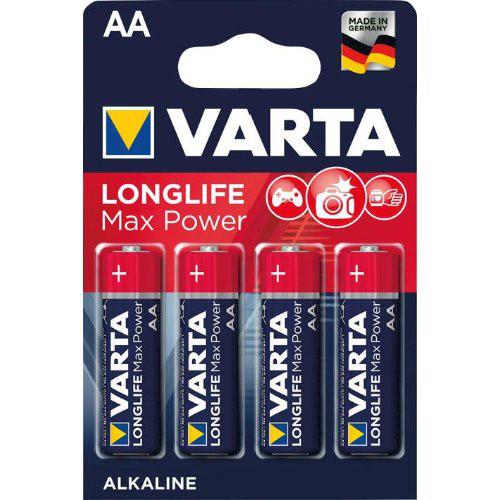 Batterie MAX TECH AA DE-Blister a 4 Stück VARTA