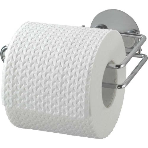 Toilettenpapierhalter Turbo-Loc, Chrom,14x9x6cm