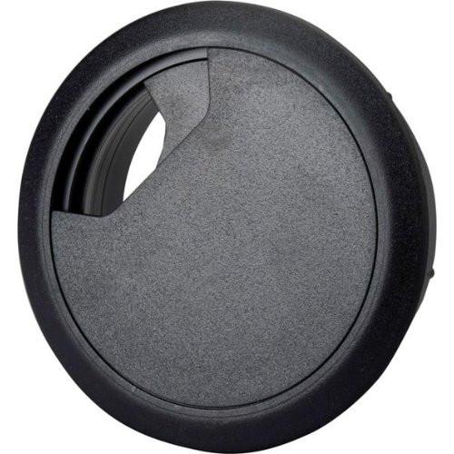 Kabeldurchführung ABS schwarz, 72x60x21 mm
