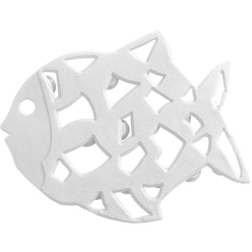 Anti-Rutsch-Sticker Fisch6-er Set, weiß