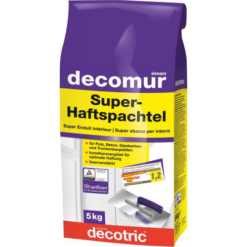 Super-Haftspachtel Decomur 5KG
