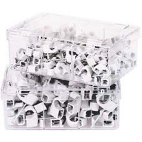 Nagelschelle, grau 4-7mm, Nagellänge 25mm a 100 Stck.