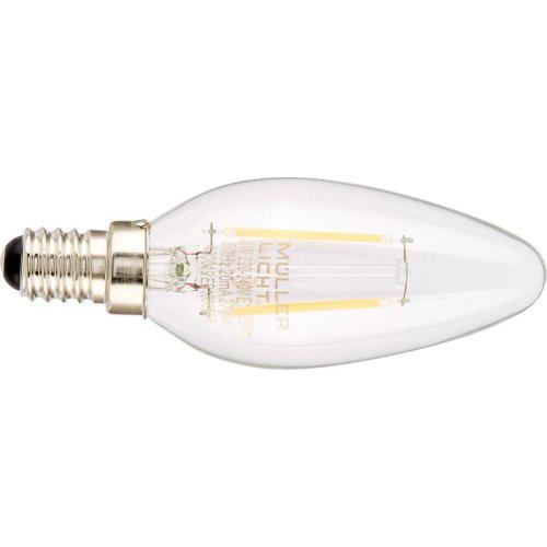 LED Kerze 2,2W E14 klar