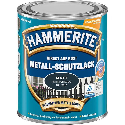 Metall-Schutzlack HA 750 ml schwarz