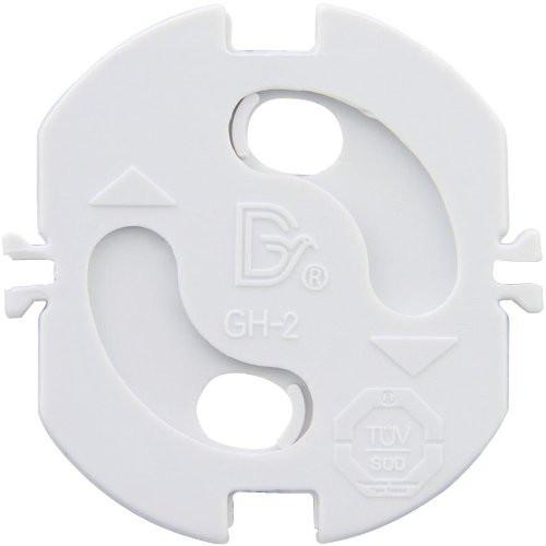 Kinderschutz-Plättchen mit Drehautomatik weiß