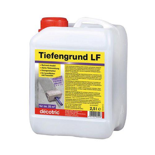 Tiefengrund 2,5 l, LF Hydrosol-Acrylat decotric
