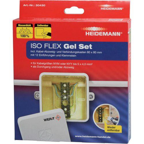 ISO FLEX Gel Set für NYY/NYM-Kabel bis 5x4