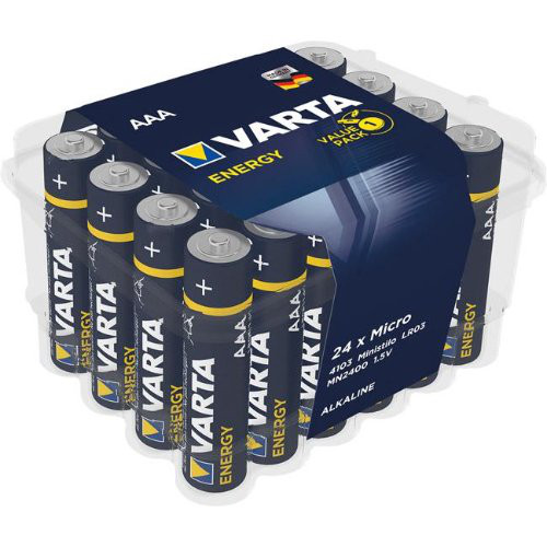 Batterie Energy AAA 24er Box VARTA