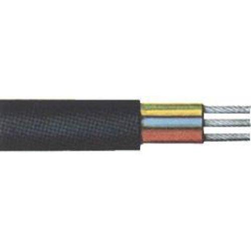 Gummischlauchleit.H05RR-F3G1,5mm2 schwarz,20m Ring
