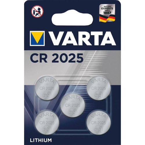 Batt.ELECTRO.CR2025 5er Blister VARTA