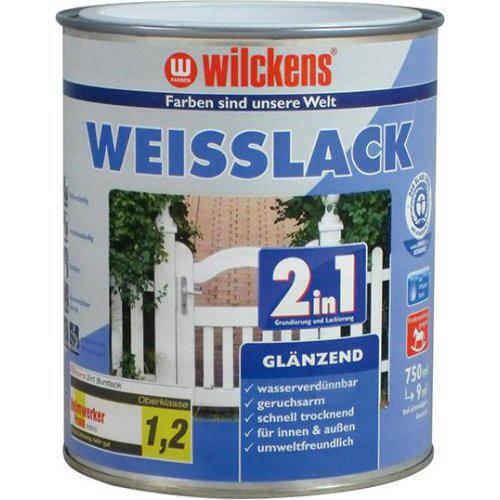 Weißlack 2in1 750 ml, glänzend