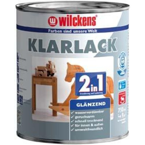 Klarlack 2in1, 750 ml glänzend