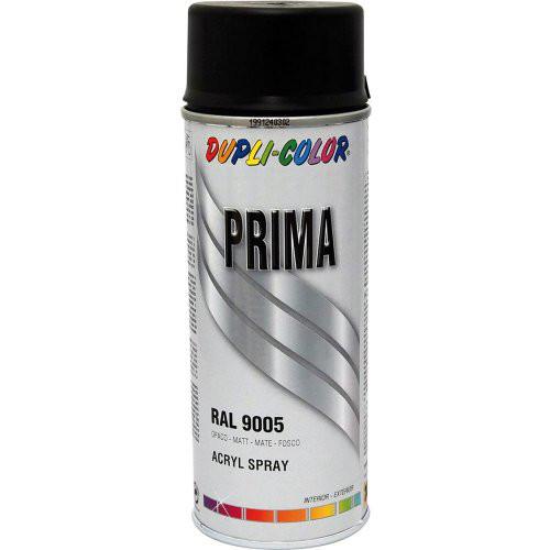 Prima Sprücklack RAL9006 400 ml, tiefschwarz, matt