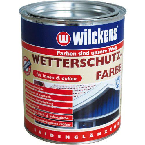 Wetterschutzfarbe 750 ml, weiß