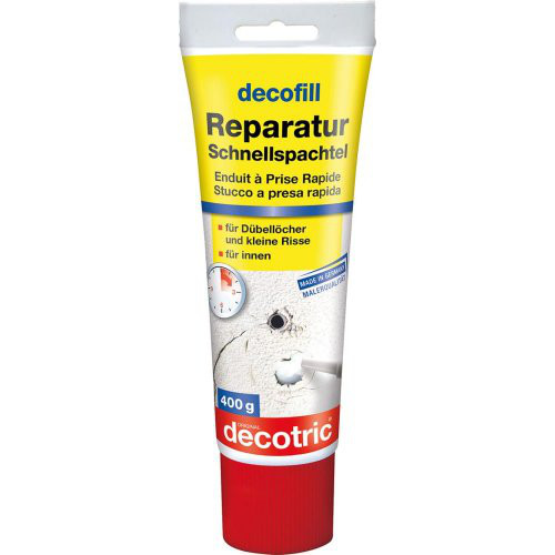 decofill Reparatur Schnellspachtel 400g Tube