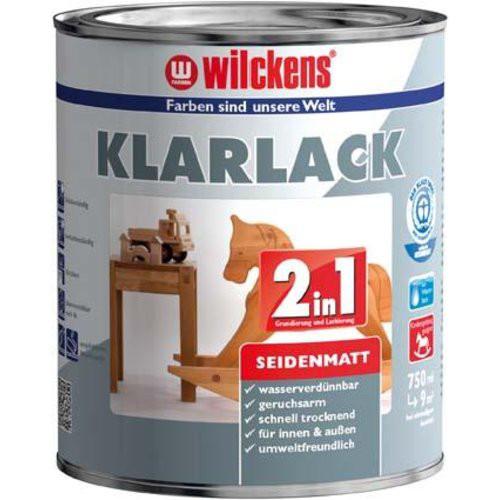 Klarlack 2in1, 750 ml seidenmatt