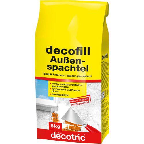 Decofill Spachtelmasse 5 kg, außen decotric