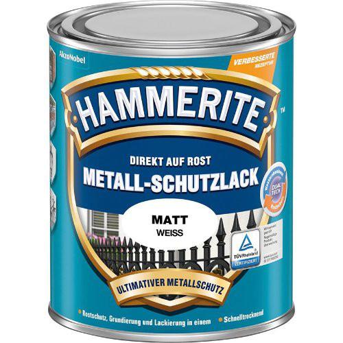 Metallschutz-Lack 750 ml matt weiss