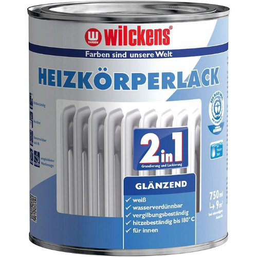 Heizkörperlack 2in1 750 ml