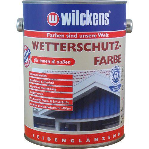 Wetterschutzfarbe 2,5 l, schwedenrot