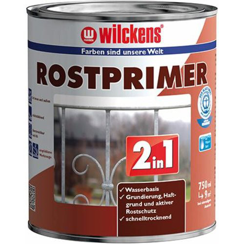 Rostprimer 2in1 750 ml, rotbraun