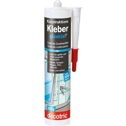 Konstruktions-Kleber glasklar, 290 ml