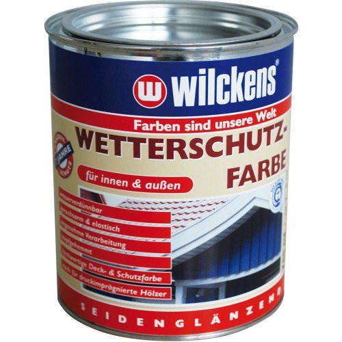 Wetterschutzfarbe 750 ml, schwedenrot
