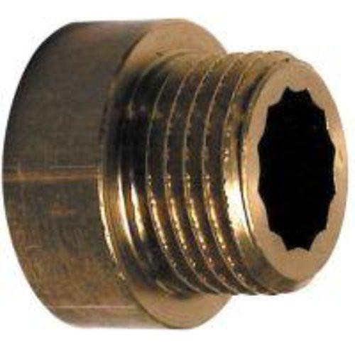 """Hahnverlängerung 1/2""""x15 mm, Messing"""