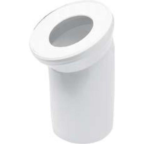 WC-Anschlussrohr 90 Grad weiß
