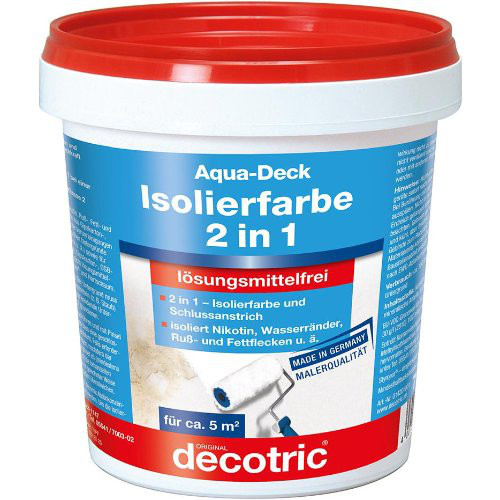 Aqua-Deck Isolierweiß ELF750 ml Dose decotric