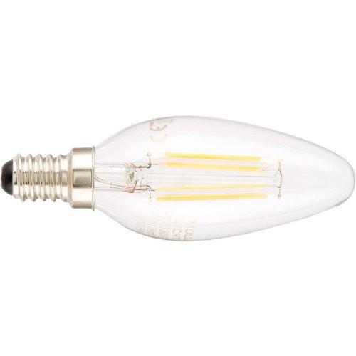 LED Kerze 4W E14 klar