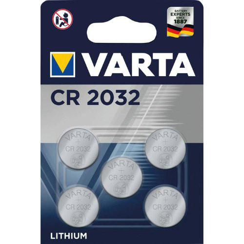 Batt.ELECTRO.CR2032 5er Blister VARTA