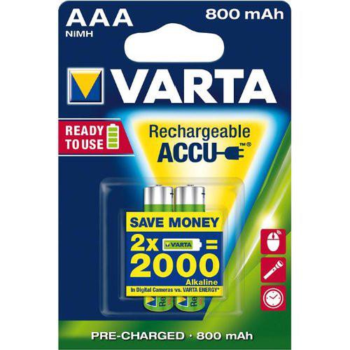 VARTA Rechargeable Power Accu Micro 2er Blister