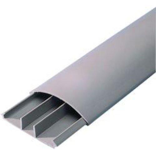 Aufbodenkanal 12x50 2 m, m.3 Kamme, grau