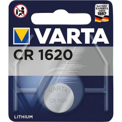 VARTA Electronics LithiumCR1620 1erBli., 3,0V