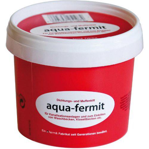Dichtungs- u. Muffenkit aqua-fermit, rot, 1/2 kg