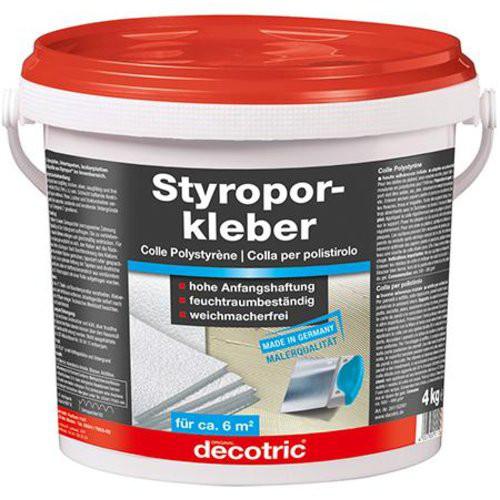 Styroporkleber 4kg, Eimergebrauchsfertig decotric