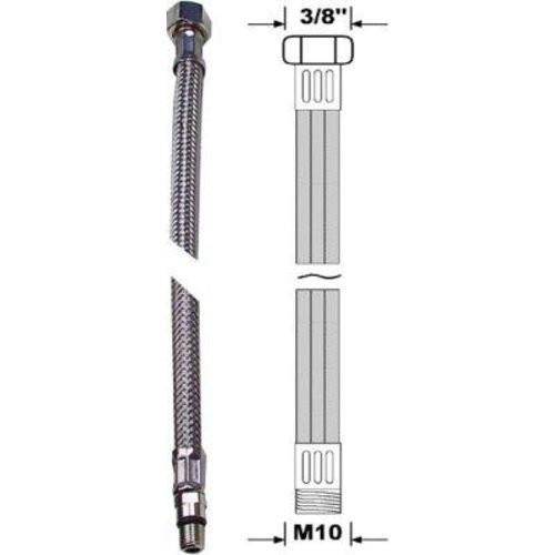 """flex. Anschlussschlauch M10 X 3/8"""" 500 mm"""