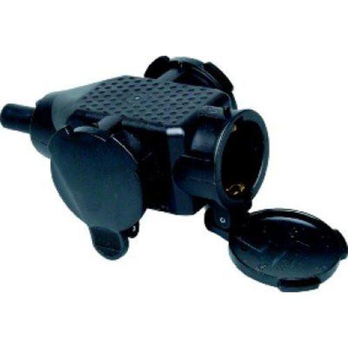 Kunststoff 3-f. Kupplung,schwarz