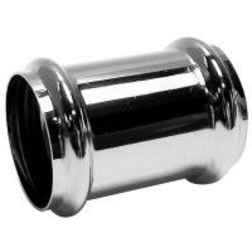 Doppelmuffe m. 2 O-Ringenchrom 32 mm
