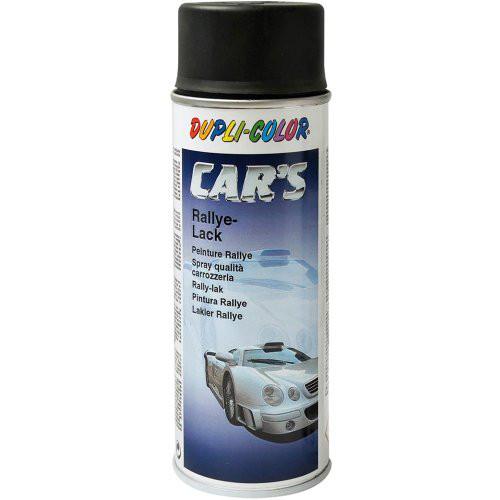 Cars Rallyelack 400 ml, schwarz, matt