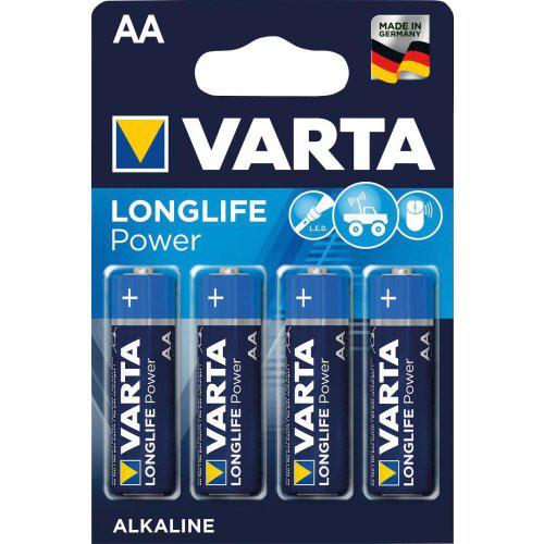 Batterie LONGLIFE Power AA Blister a 4 Stück VARTA