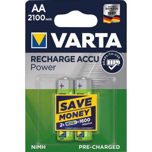 VARTA Rechargeable Power Accu Mignon 2er Bilster