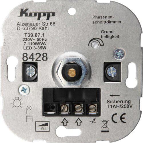 Dimmer Druckplatte LED