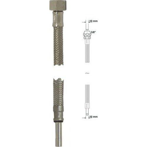 """Anschlussrohr-flex.300 mmchrom Überwurfmutt. 1/2"""""""